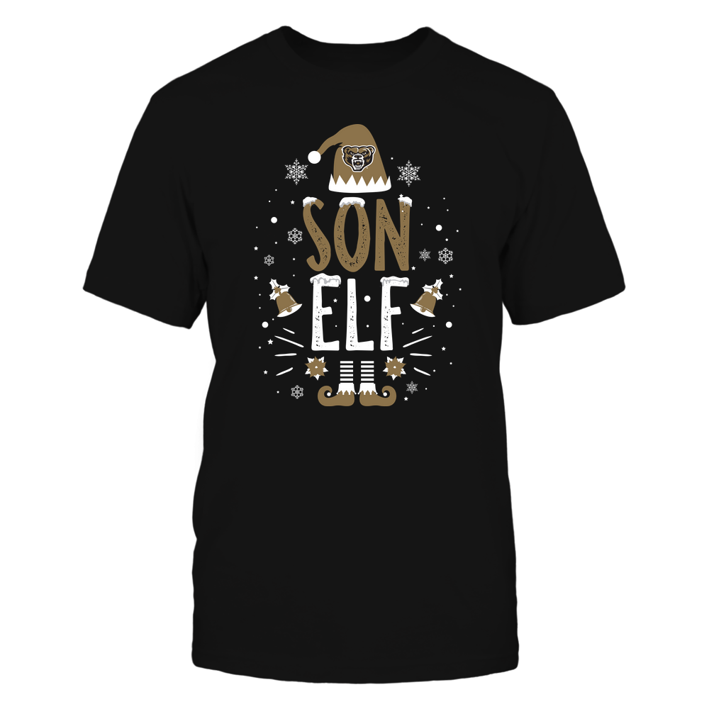 Oakland Golden Grizzlies - Christmas - Son Elf - Team Front picture