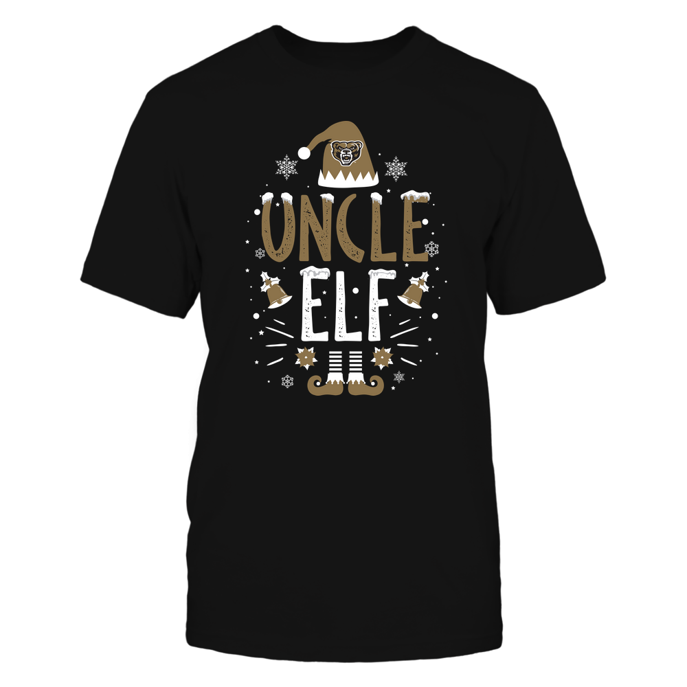 Oakland Golden Grizzlies - Christmas - Uncle Elf - Team Front picture