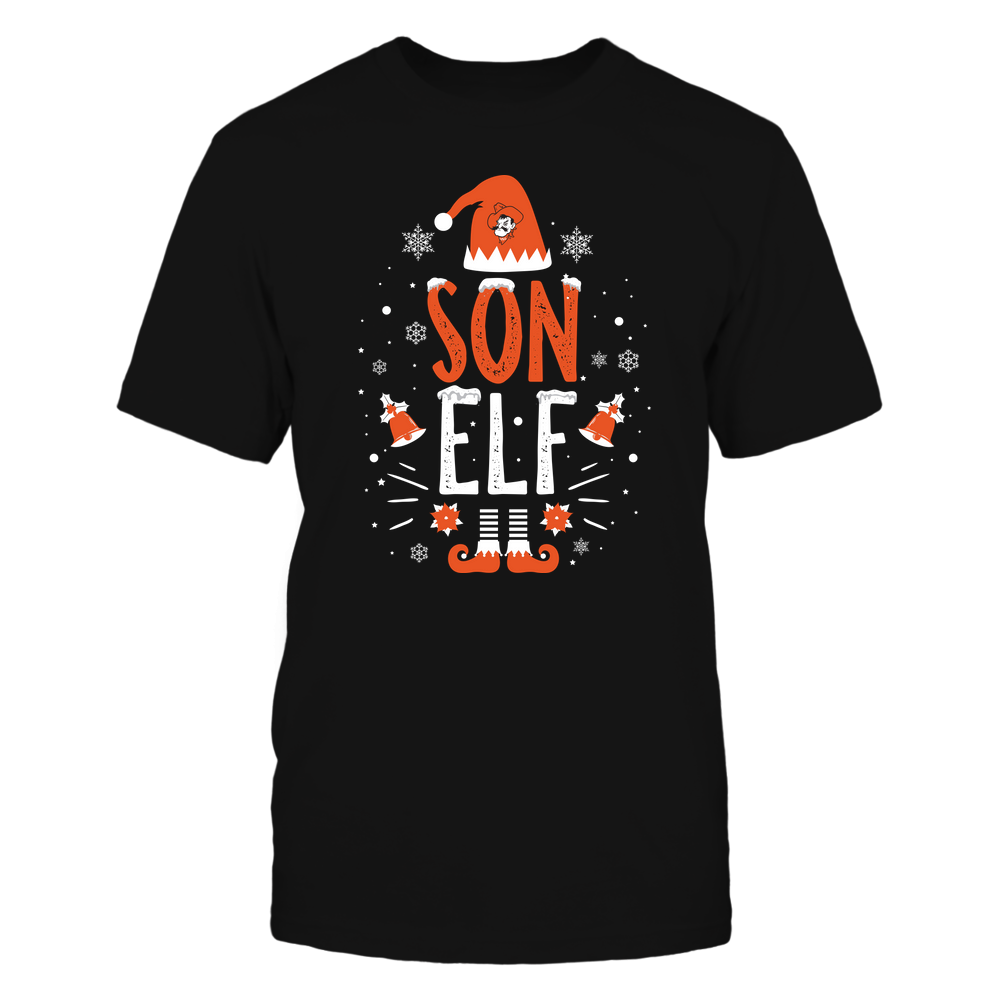 Oklahoma State Cowboys - Christmas - Son Elf - Team Front picture