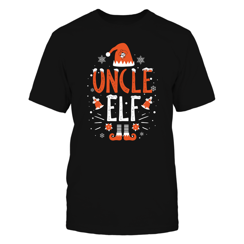 Oklahoma State Cowboys - Christmas - Uncle Elf - Team Front picture