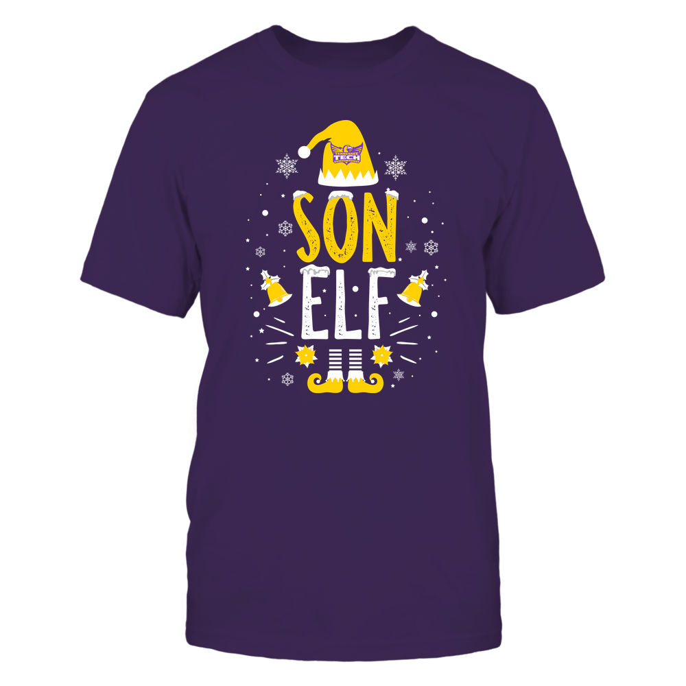 Tennessee Tech Golden Eagles - Christmas - Son Elf - Team Front picture