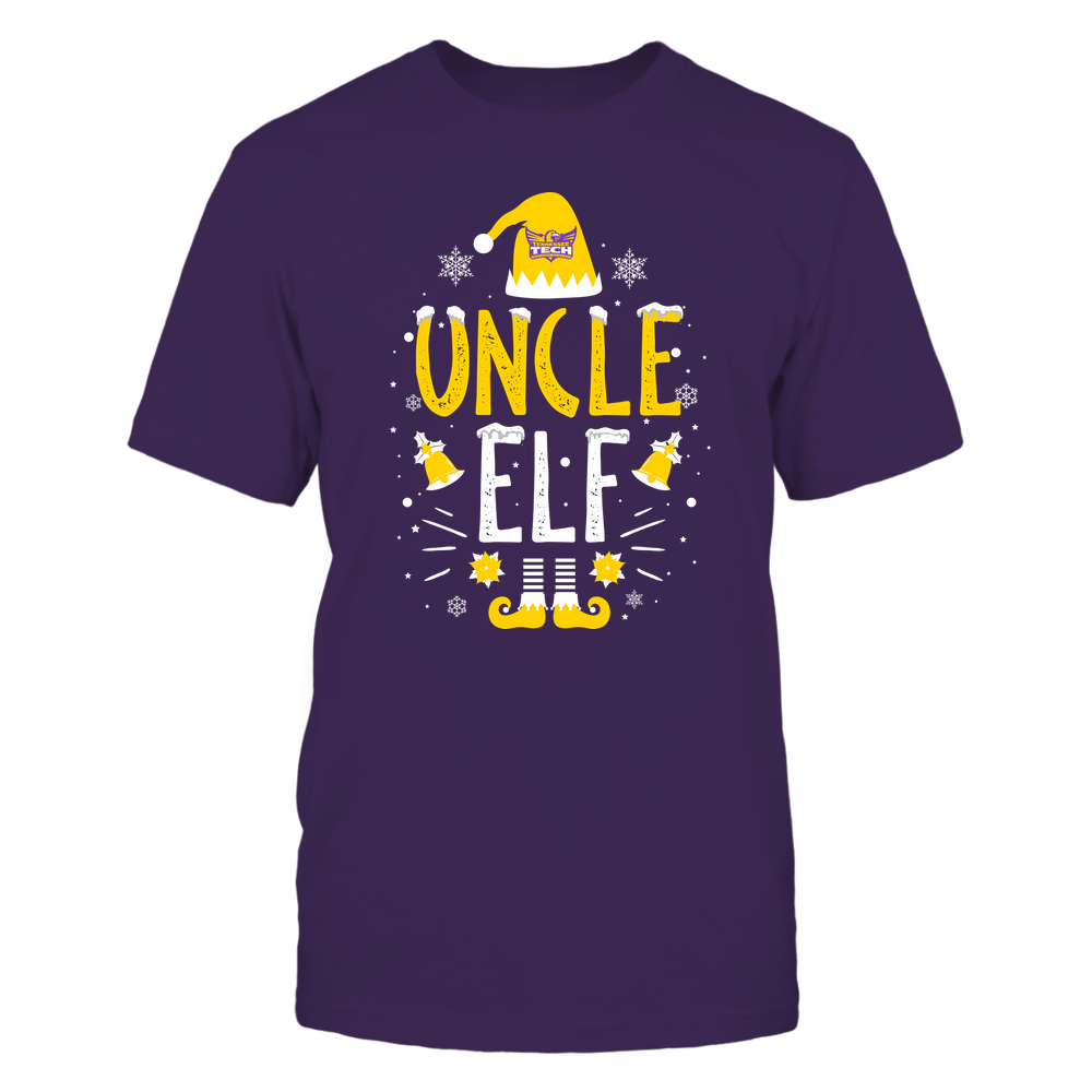 Tennessee Tech Golden Eagles - Christmas - Uncle Elf - Team Front picture