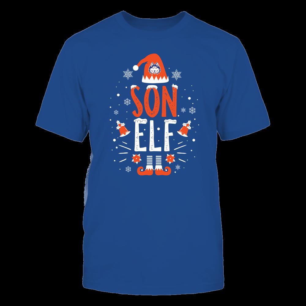 Houston Baptist Huskies - Christmas - Son Elf - Team Front picture