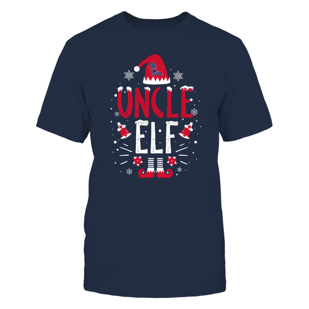 Ole Miss Rebels - Christmas - Uncle Elf - Team Front picture