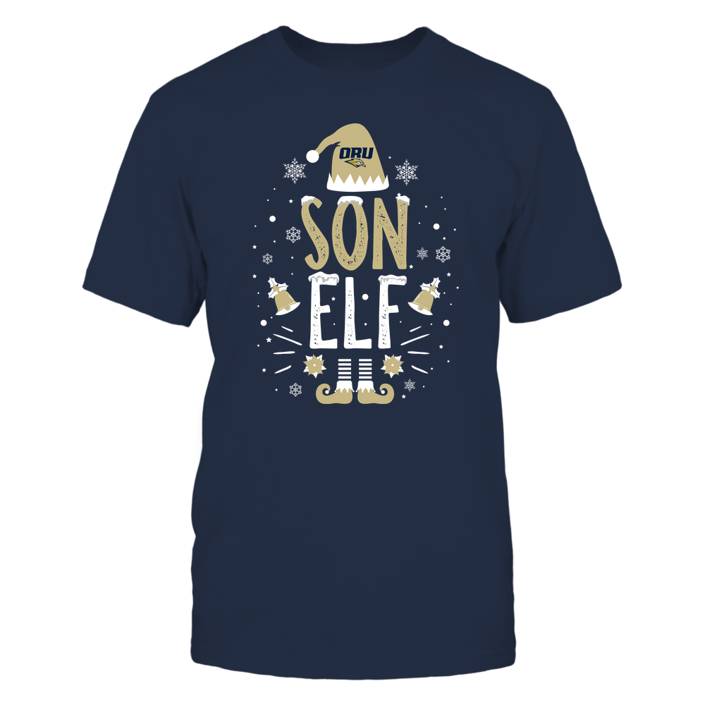 Oral Roberts Golden Eagles - Christmas - Son Elf - Team Front picture