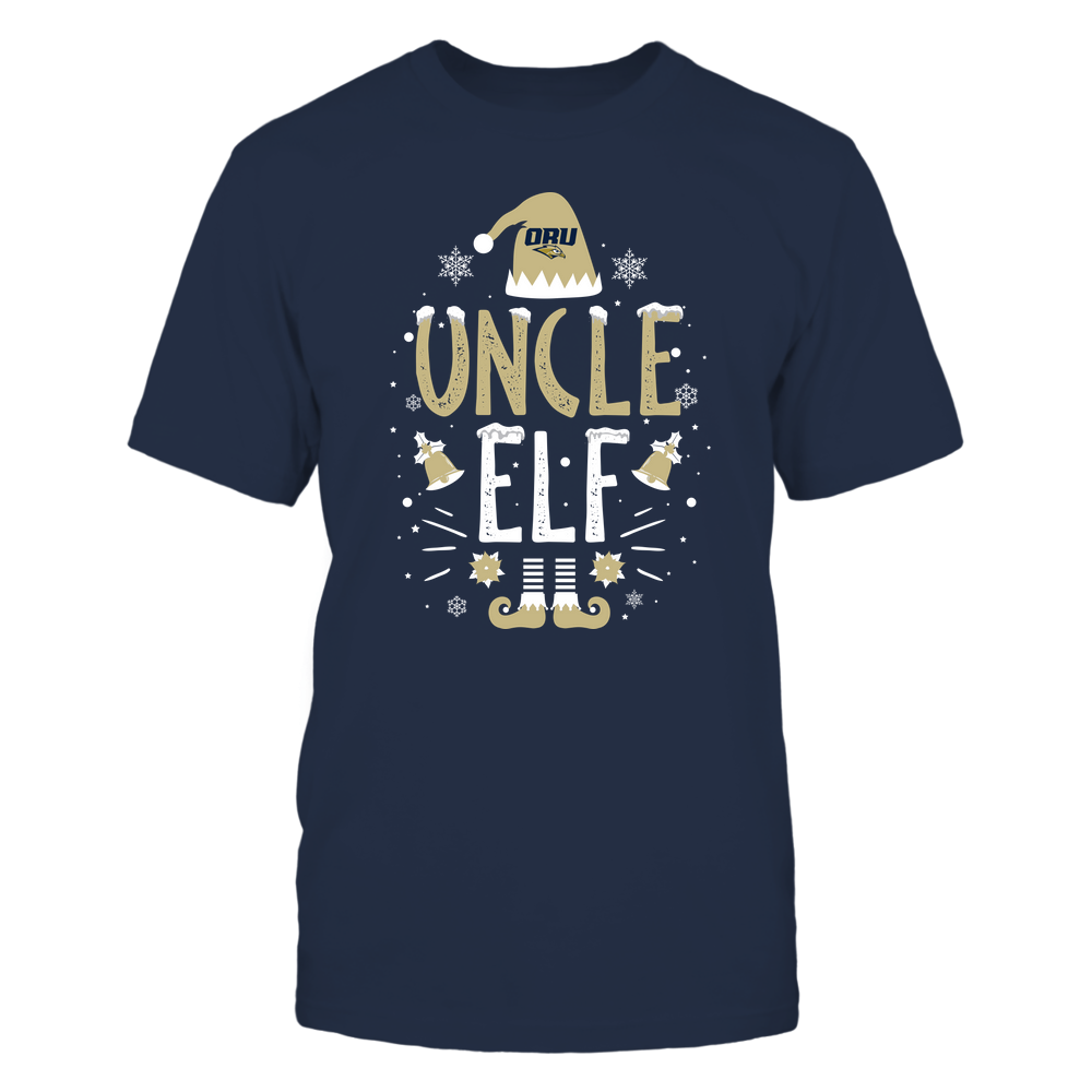 Oral Roberts Golden Eagles - Christmas - Uncle Elf - Team Front picture