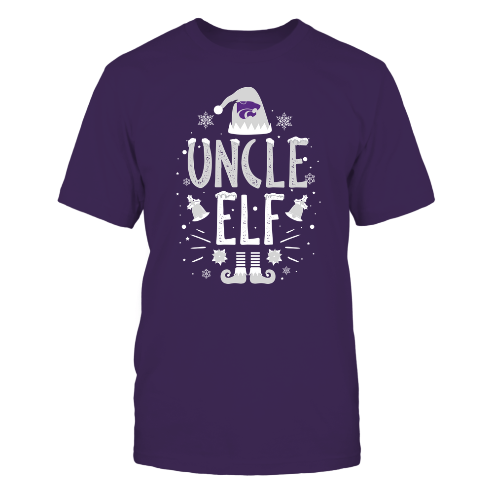 Kansas State Wildcats - Christmas - Uncle Elf - Team Front picture