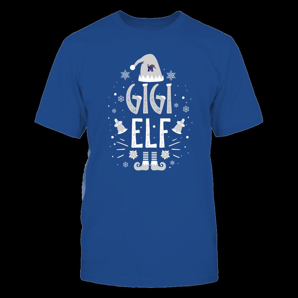 Memphis Tigers - Christmas - Gigi Elf - Team Front picture