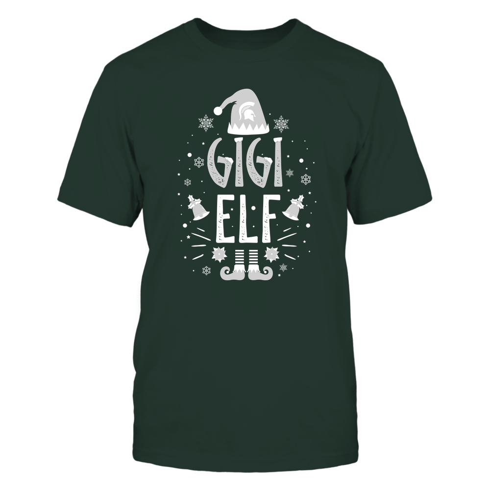 Michigan State Spartans - Christmas - Gigi Elf - Team Front picture