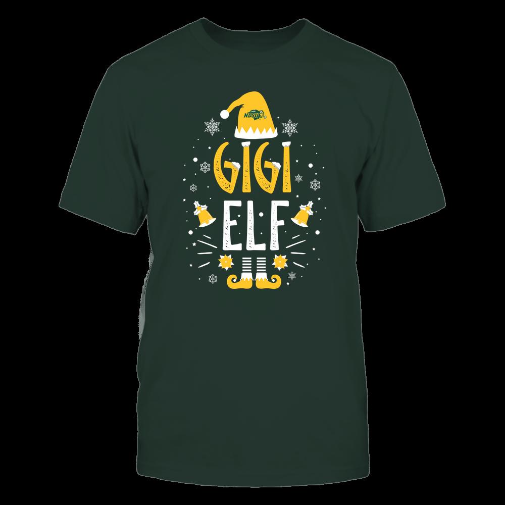 North Dakota State Bison - Christmas - Gigi Elf - Team Front picture