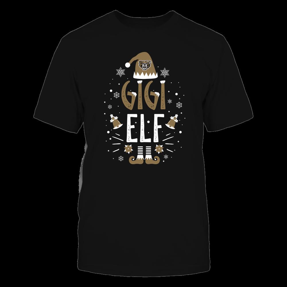 Oakland Golden Grizzlies - Christmas - Gigi Elf - Team Front picture