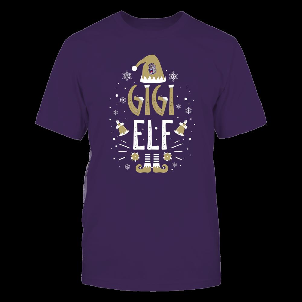 James Madison Dukes - Christmas - Gigi Elf - Team Front picture