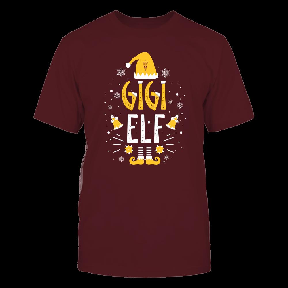 Arizona State Sun Devils - Christmas - Gigi Elf - Team Front picture