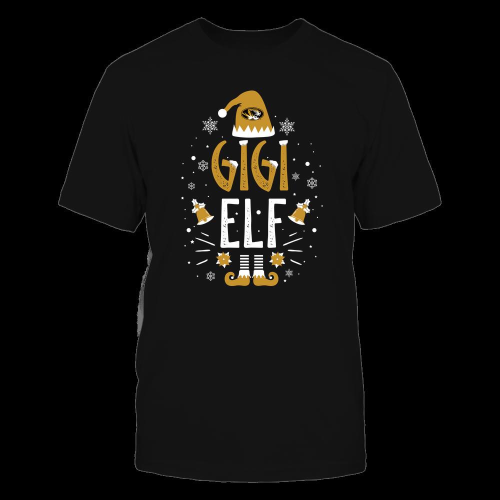 Mizzou Tigers - Christmas - Gigi Elf - Team Front picture