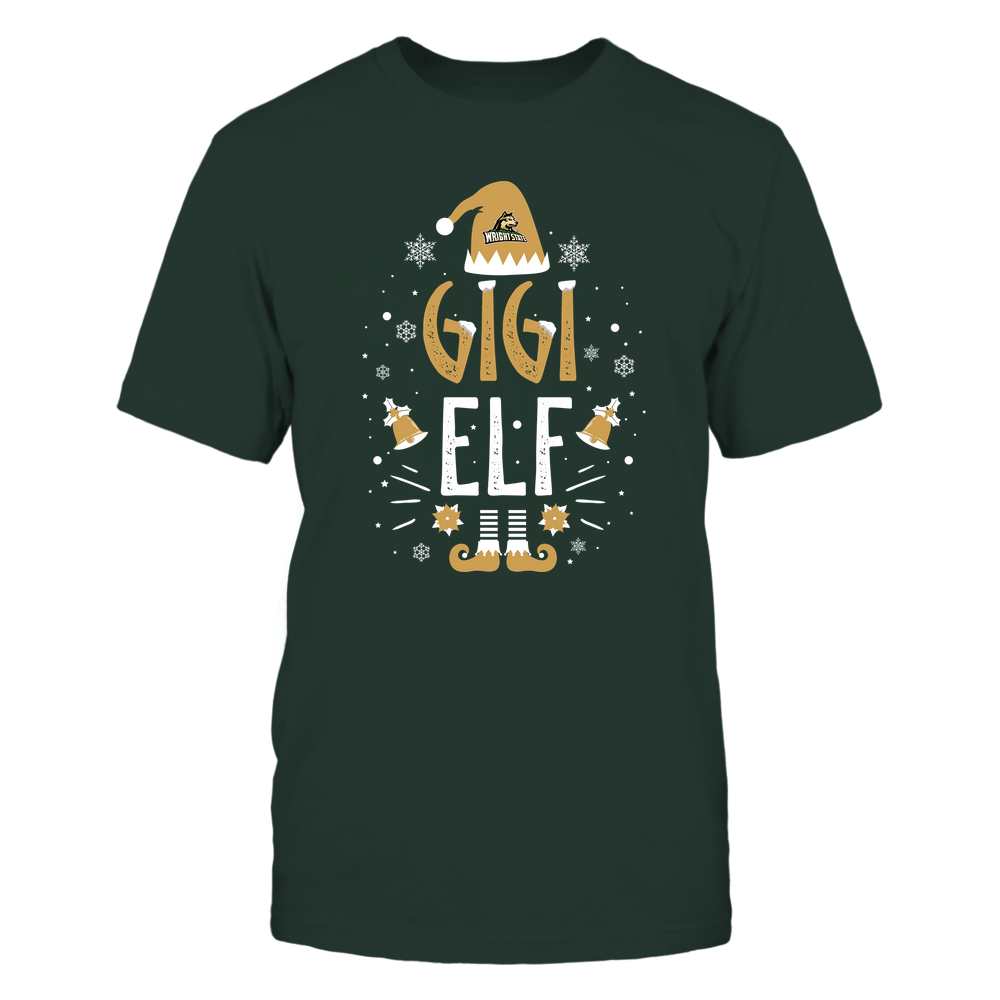 Wright State Raiders - Christmas - Gigi Elf - Team Front picture