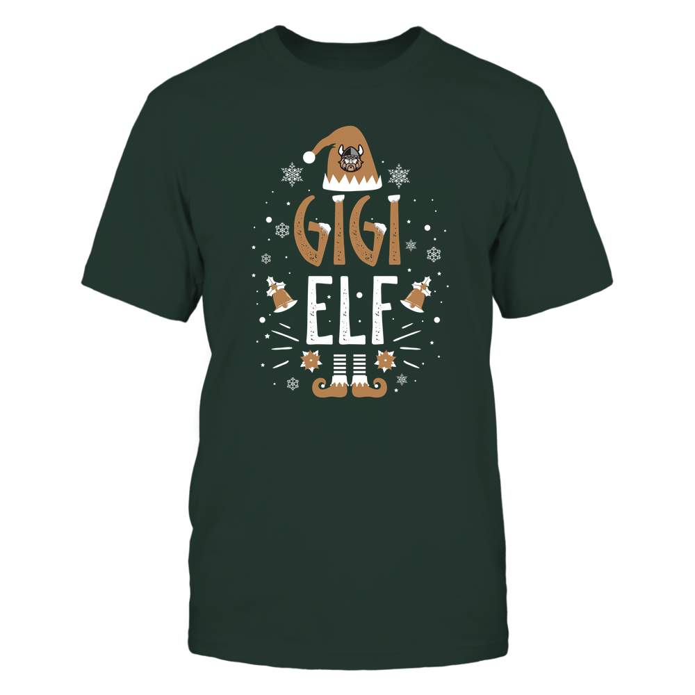 Cleveland State Vikings - Christmas - Gigi Elf - Team Front picture