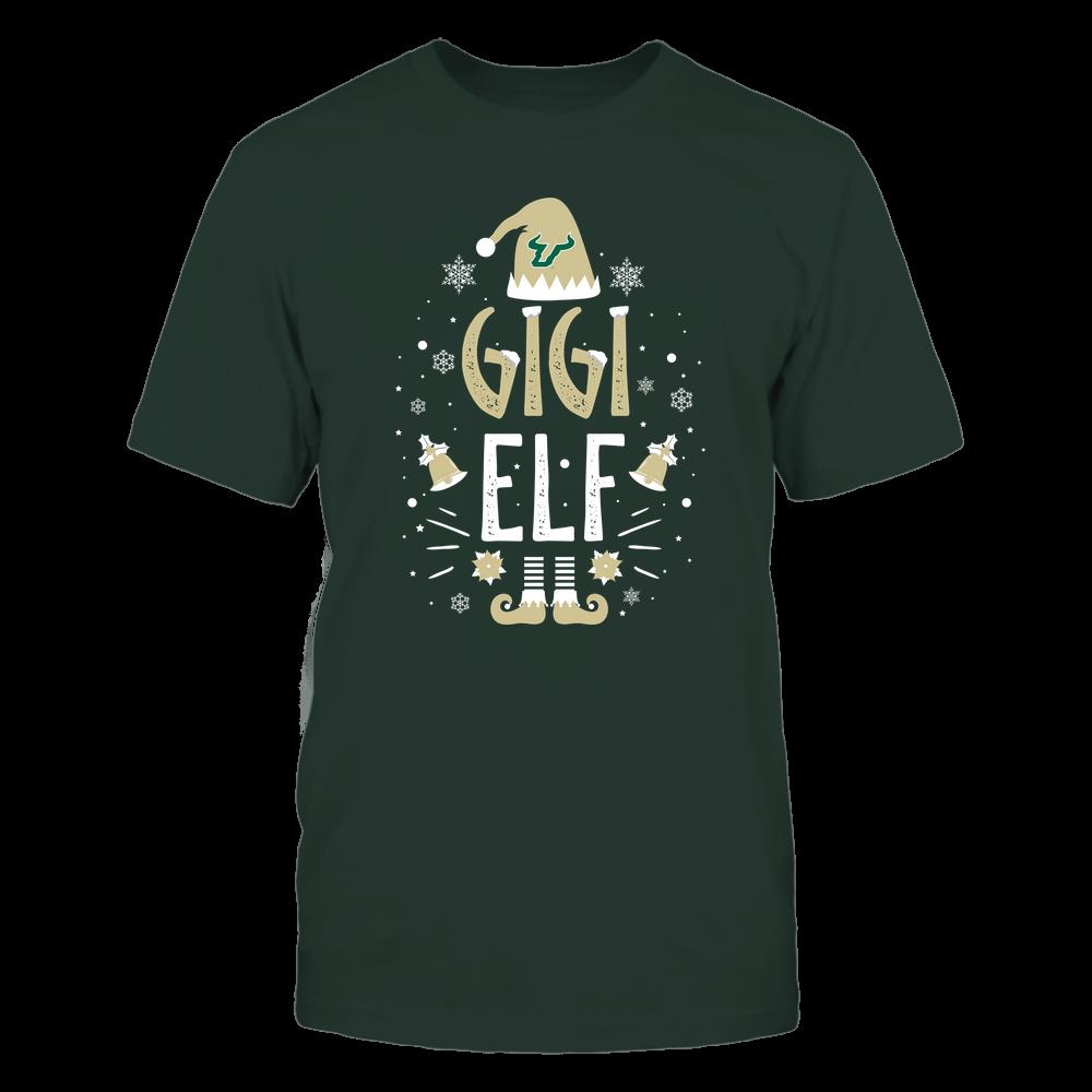 South Florida Bulls - Christmas - Gigi Elf - Team Front picture