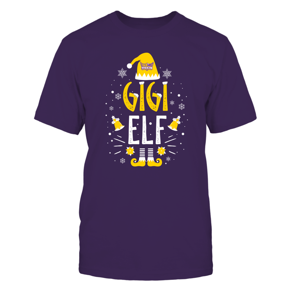 Tennessee Tech Golden Eagles - Christmas - Gigi Elf - Team Front picture