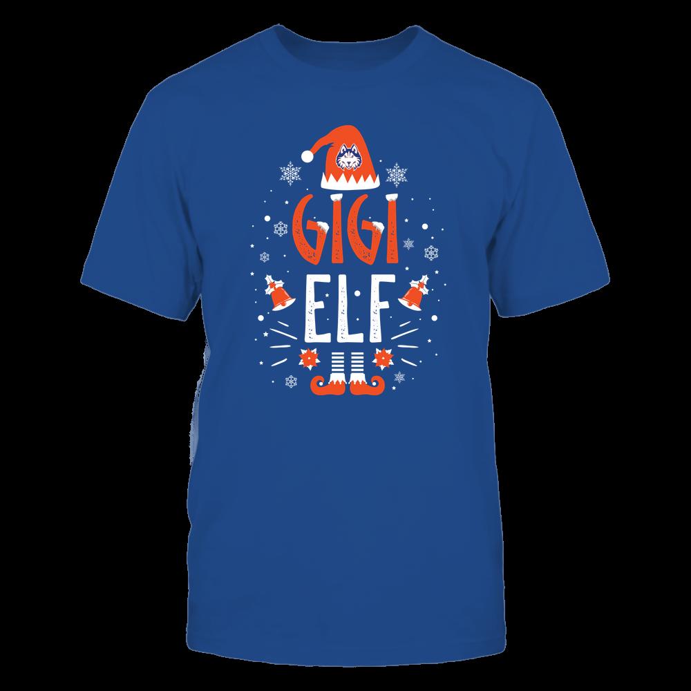Houston Baptist Huskies - Christmas - Gigi Elf - Team Front picture