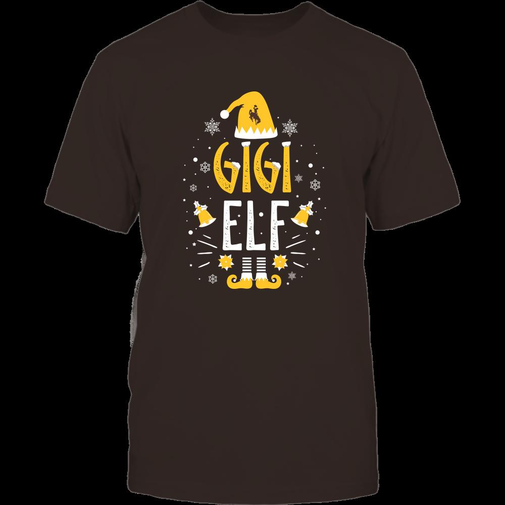 Wyoming Cowboys - Christmas - Gigi Elf - Team Front picture