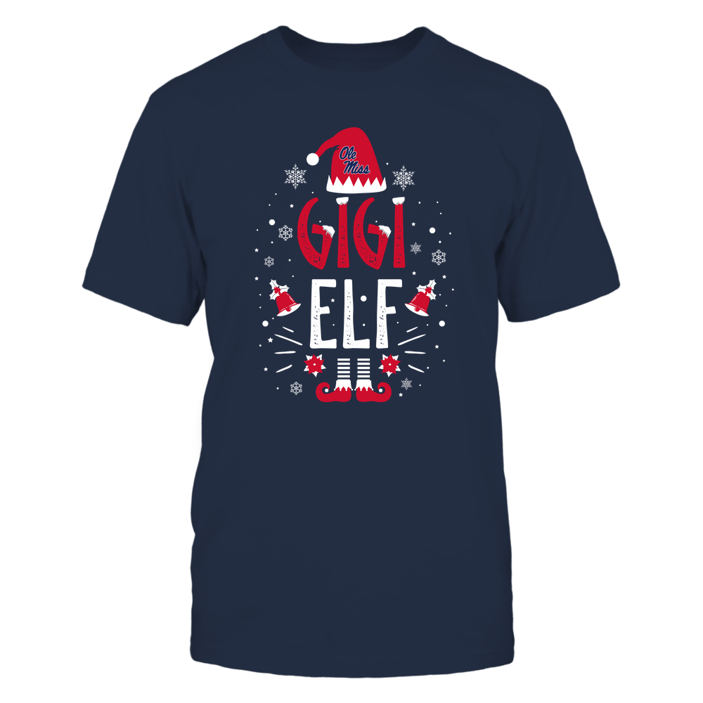 Ole Miss Rebels - Christmas - Gigi Elf - Team Front picture