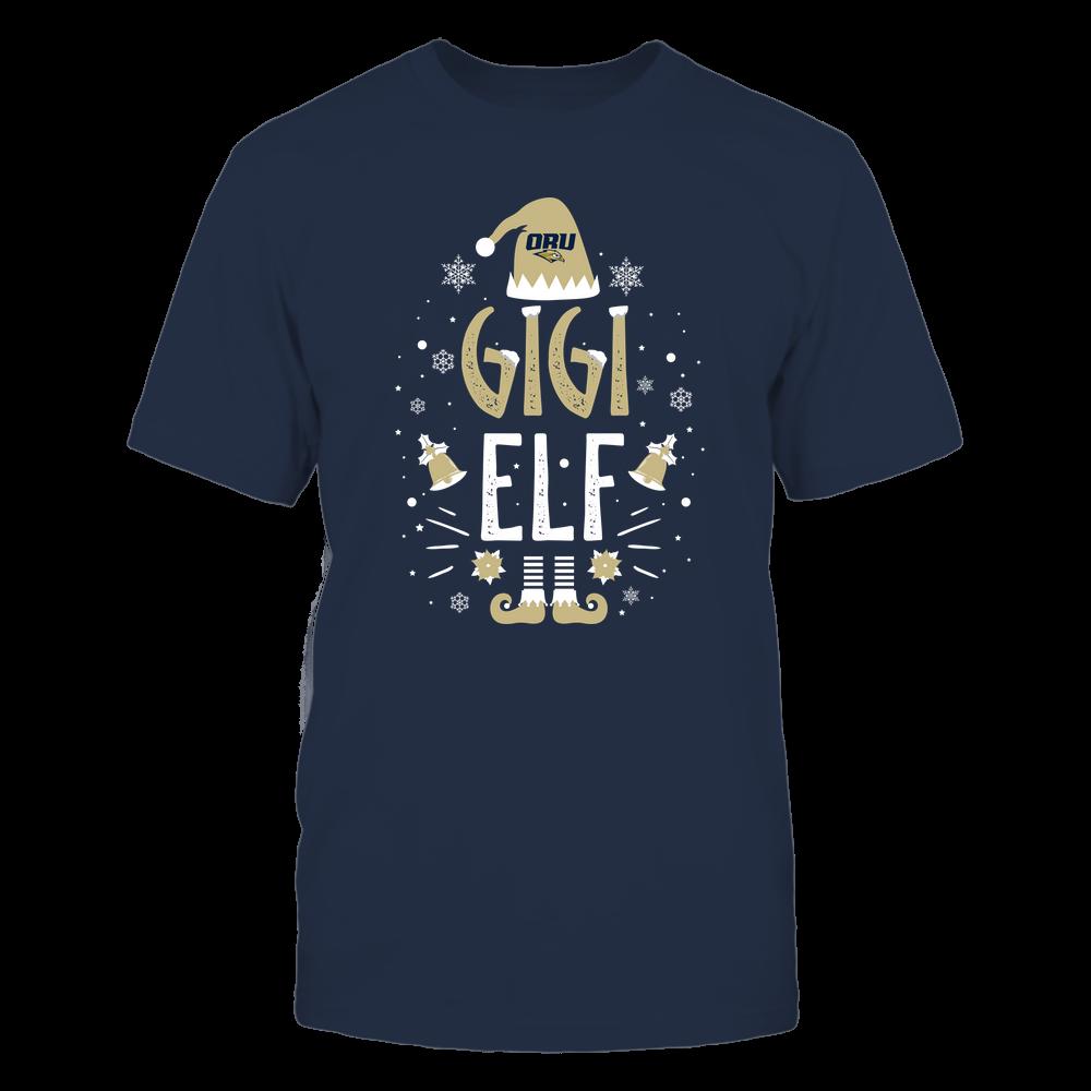 Oral Roberts Golden Eagles - Christmas - Gigi Elf - Team Front picture
