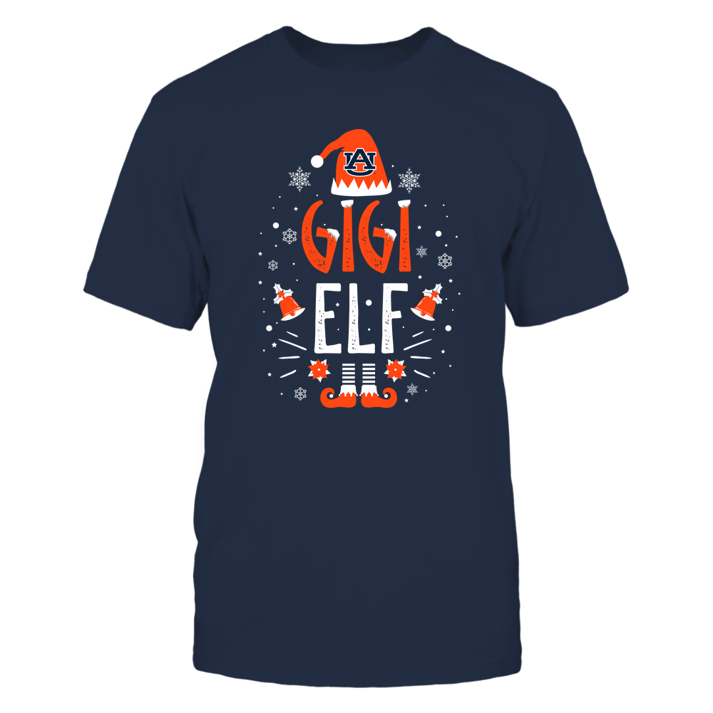 Auburn Tigers - Christmas - Gigi Elf - Team Front picture