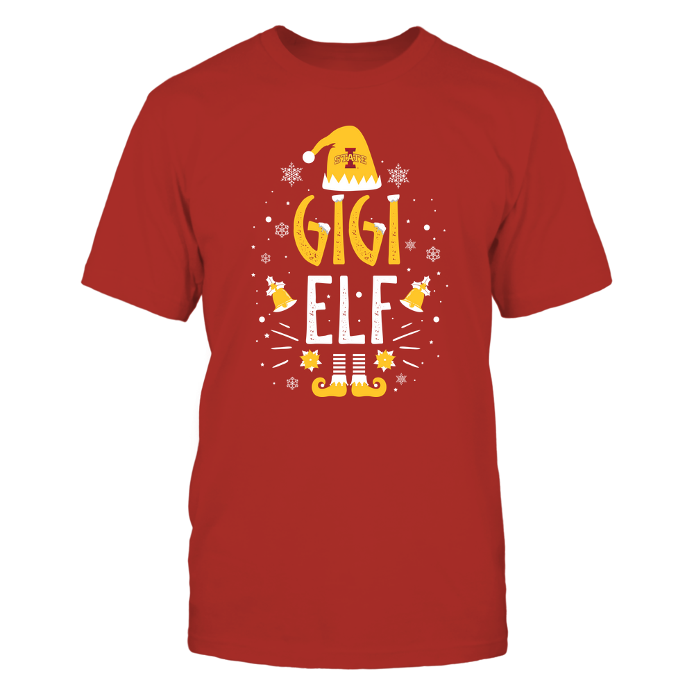 Iowa State Cyclones - Christmas - Gigi Elf - Team Front picture