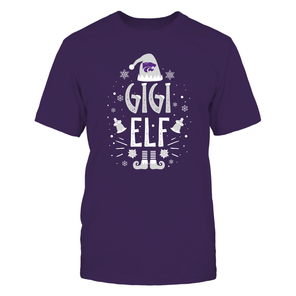 Kansas State Wildcats - Christmas - Gigi Elf - Team Front picture