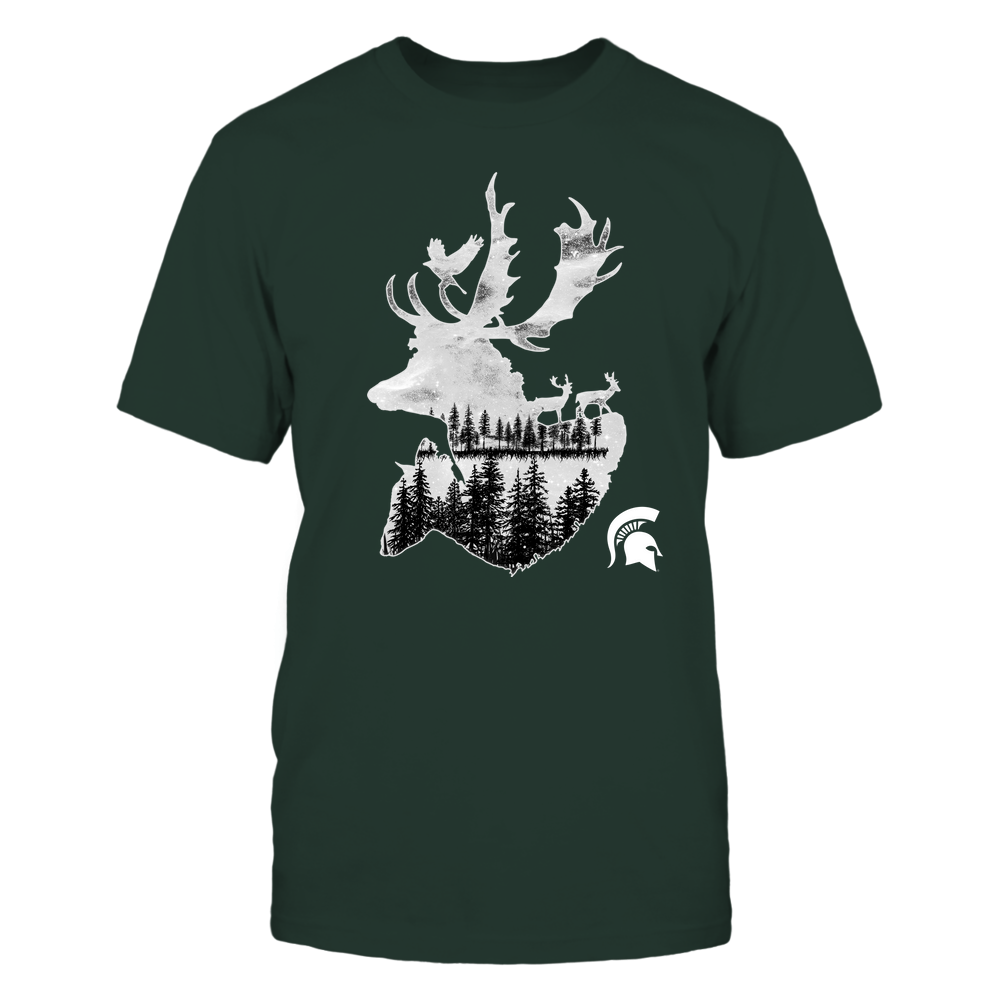 Michigan State Spartans - Hunting - Deer Galaxy - Team Front picture