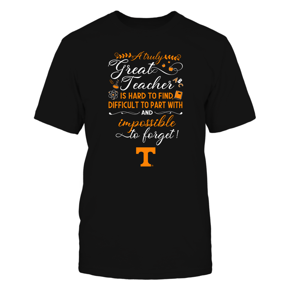 Tennessee Volunteers - Teacher - A Truely Great Teacher - Team Front picture