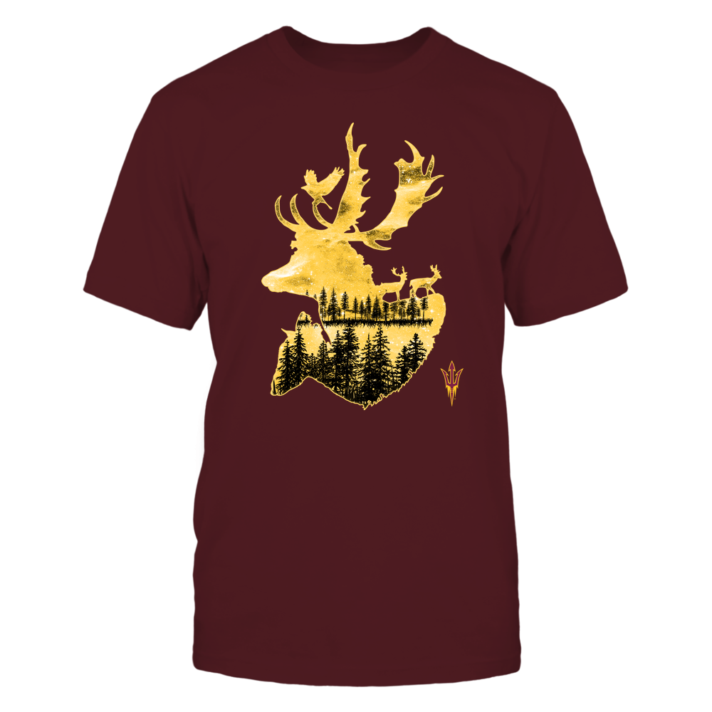 Arizona State Sun Devils - Hunting - Deer Galaxy - Team Front picture