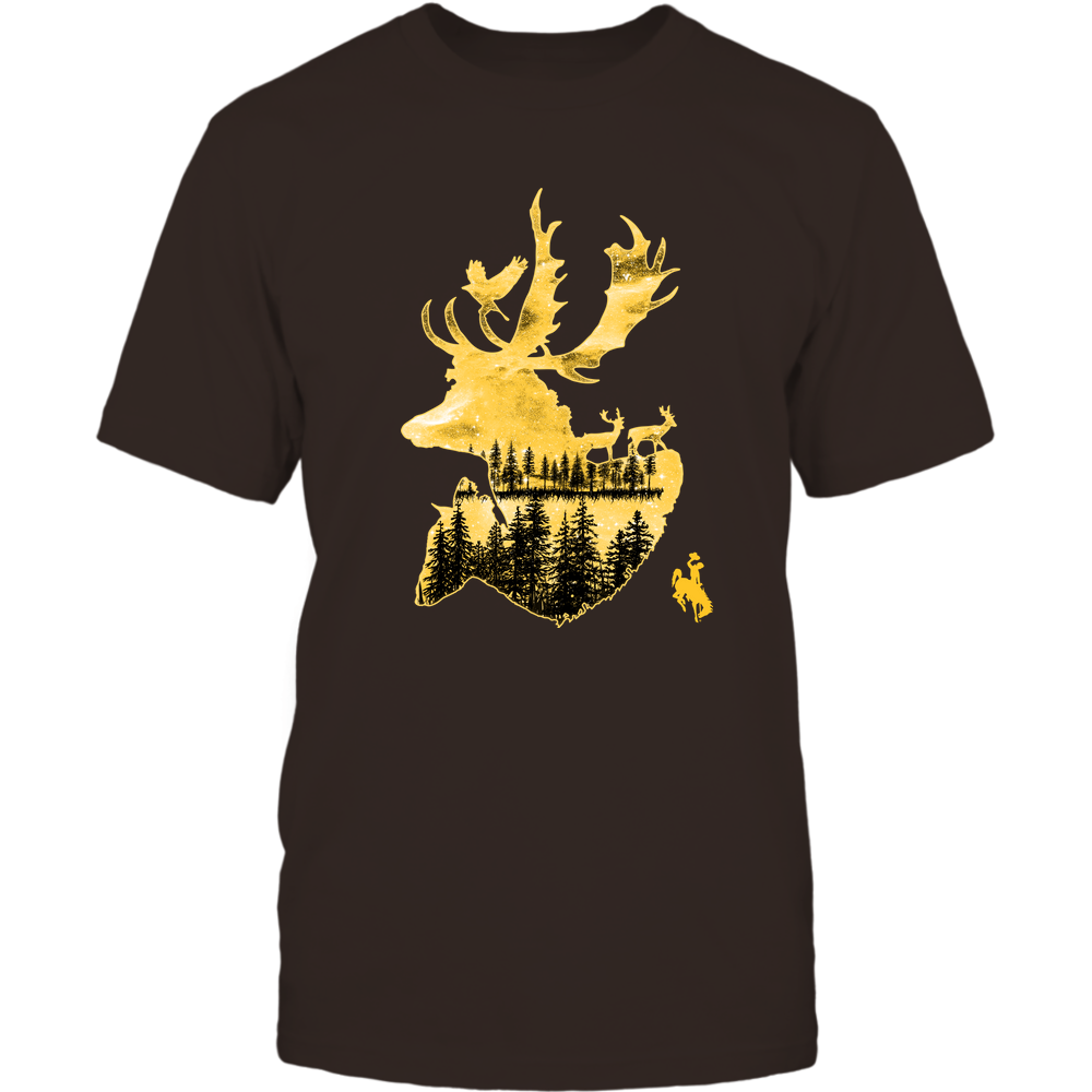 Wyoming Cowboys - Hunting - Deer Galaxy - Team Front picture