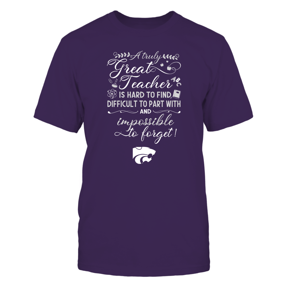 Kansas State Wildcats - Teacher - A Truely Great Teacher - Team Front picture