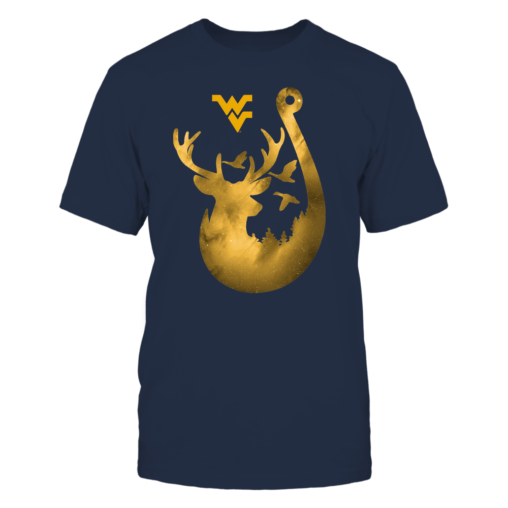 West Virginia Mountaineers - Deer In Hook - Galaxy - Team Front picture