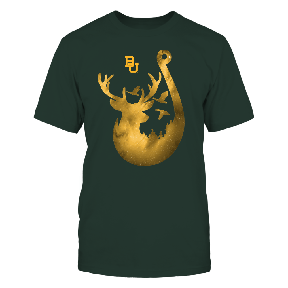 Baylor Bears - Deer In Hook - Galaxy - Team Front picture