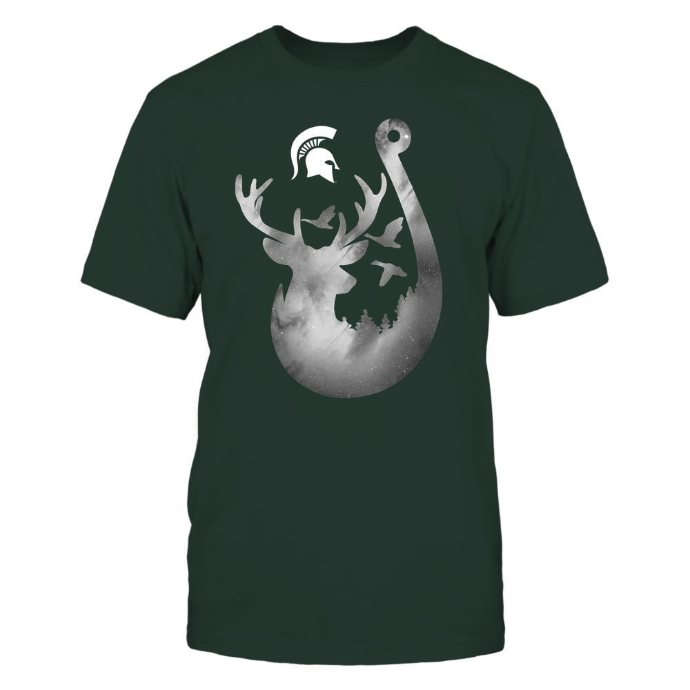 Michigan State Spartans - Deer In Hook - Galaxy - Team Front picture