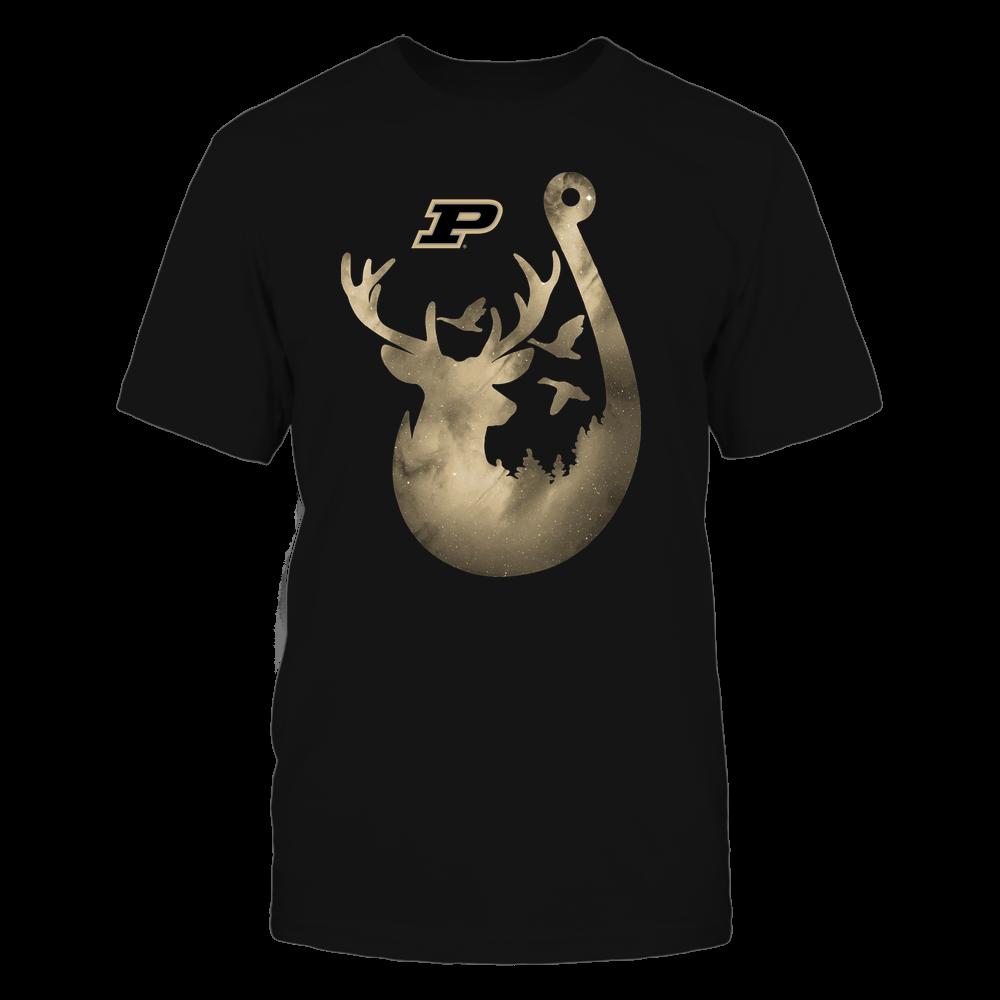 Purdue Boilermakers - Deer In Hook - Galaxy - Team Front picture