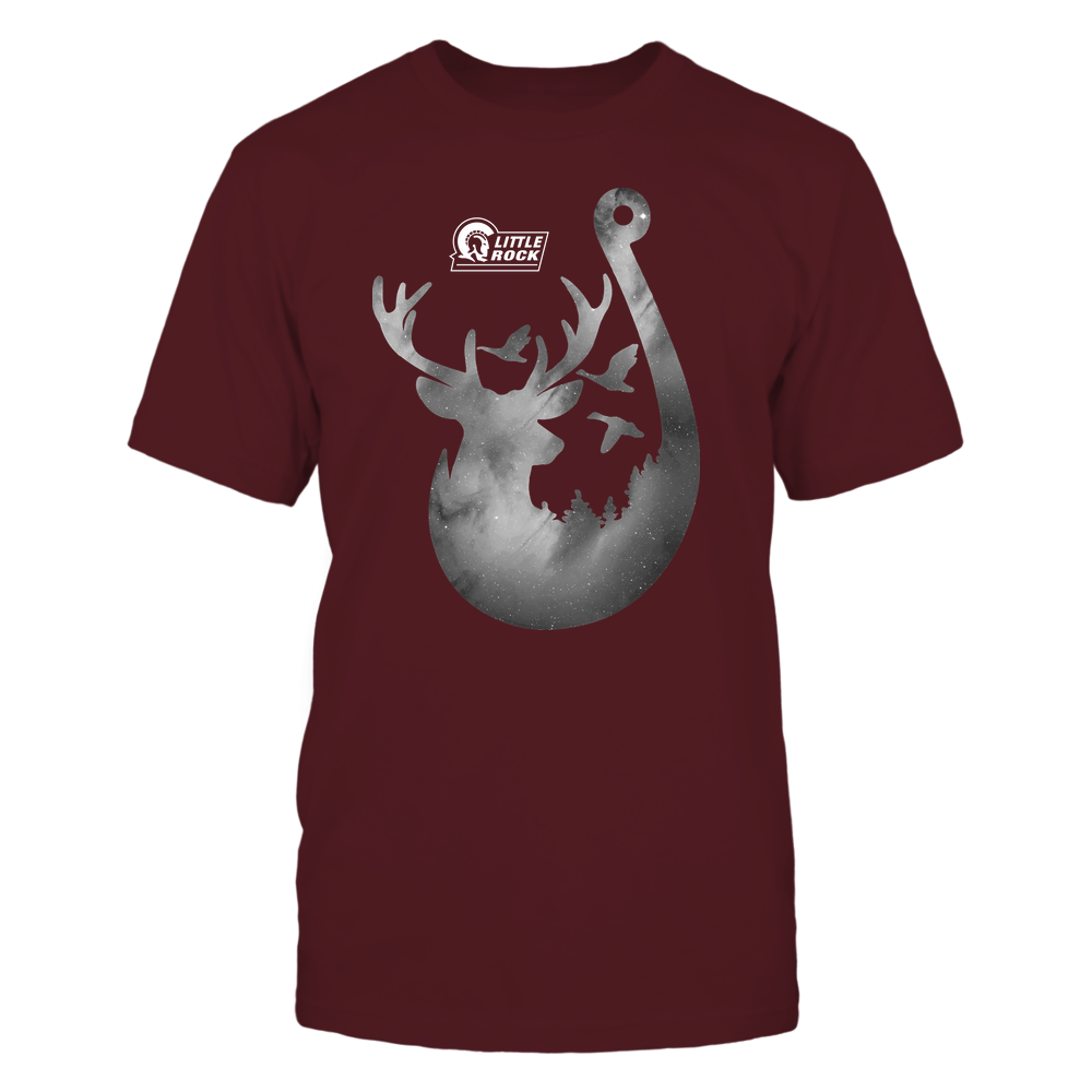 Arkansas Little Rock Trojans - Deer In Hook - Galaxy - Team Front picture