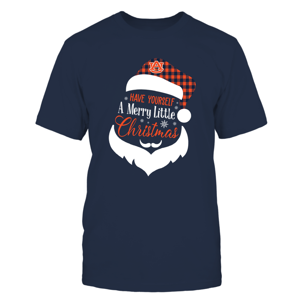 Auburn Tigers - Xmas - Xmas Car - String Light - Have Yourself A Merry Little Christmas  - IF82-IC82-DS63 Front picture