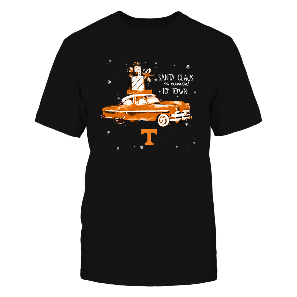 Tennessee Volunteers - Xmas - Xmas Car - Santa Claus Is Coming  - IF82-IC82-DS38 Front picture