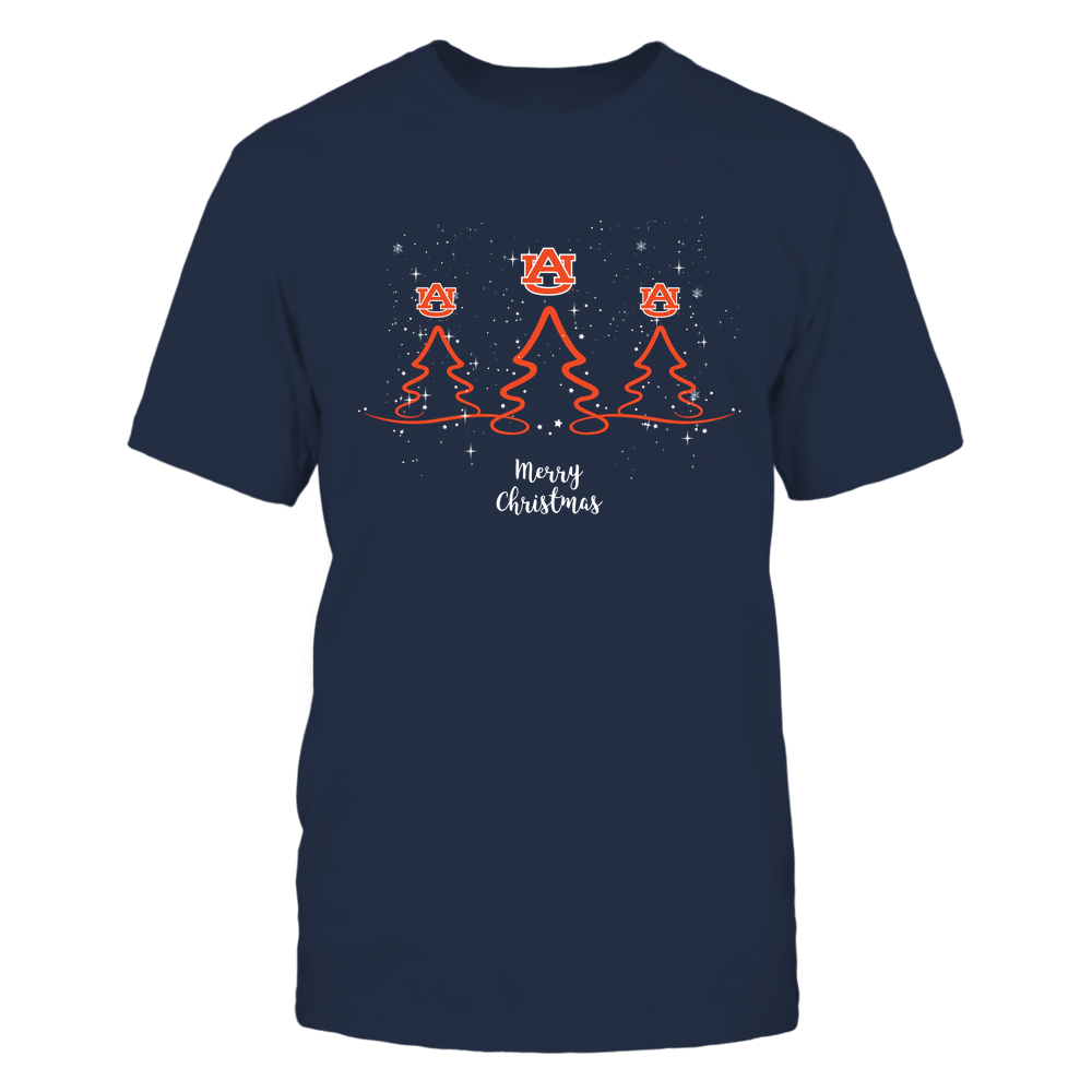 Auburn Tigers - Xmas - Triple Tree - IF32-IC32-DS85 Front picture