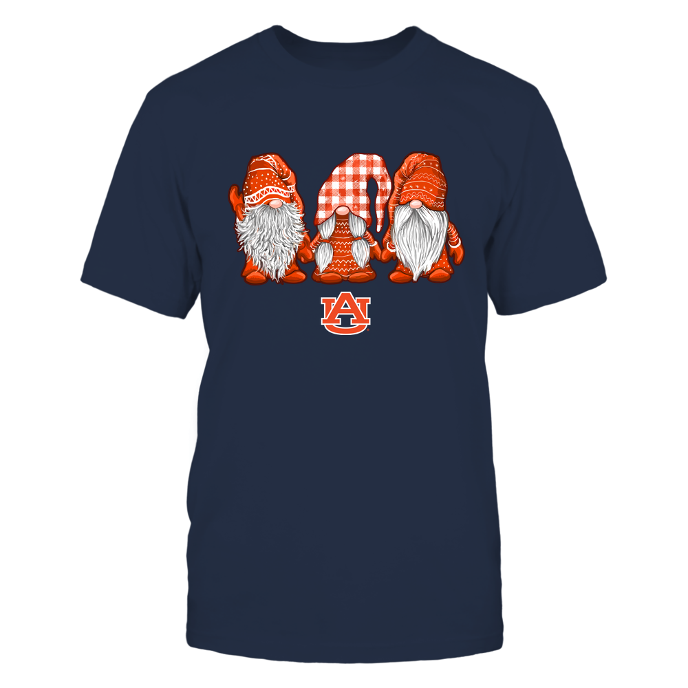 Auburn Tigers - Xmas - Three Gnomes Christmas  - IF78-IC78-DS85 Front picture