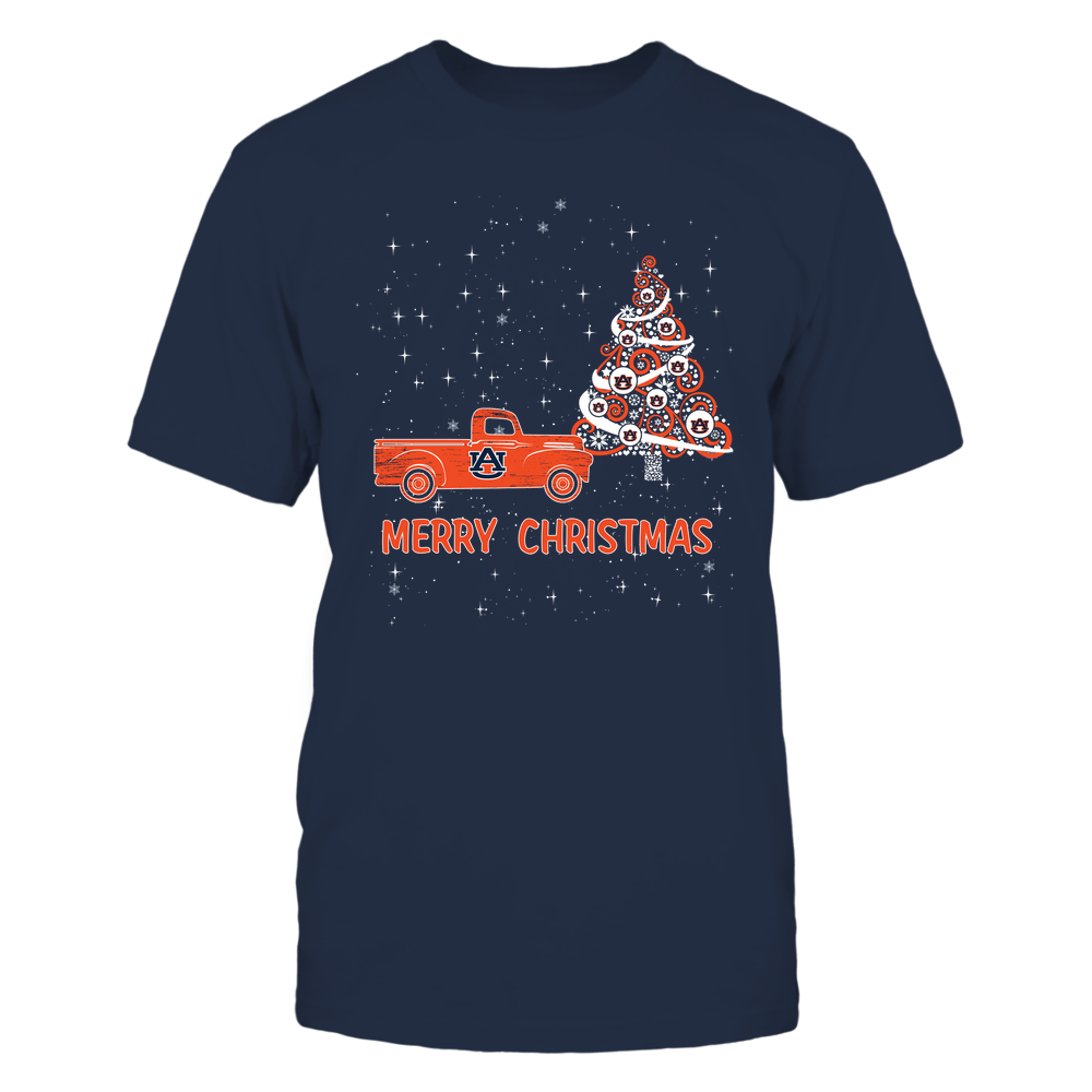 Auburn Tigers - Xmas - Christmas Tree - Christmas Truck - IF78-IC78-DS38 Front picture