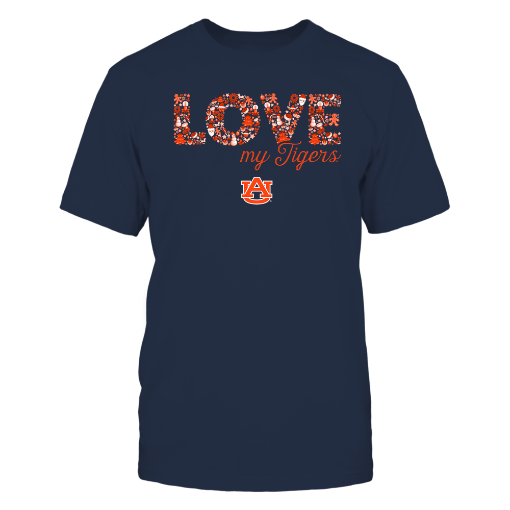 Auburn Tigers - Xmas - Team Slogan - Christmas Things - IF32-IC32-DS64 Front picture