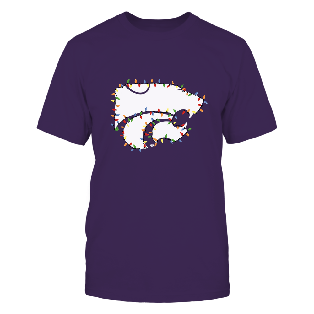 Kansas State Wildcats - Xmas - Logo Color Light - IF32-IC32-DS38 Front picture