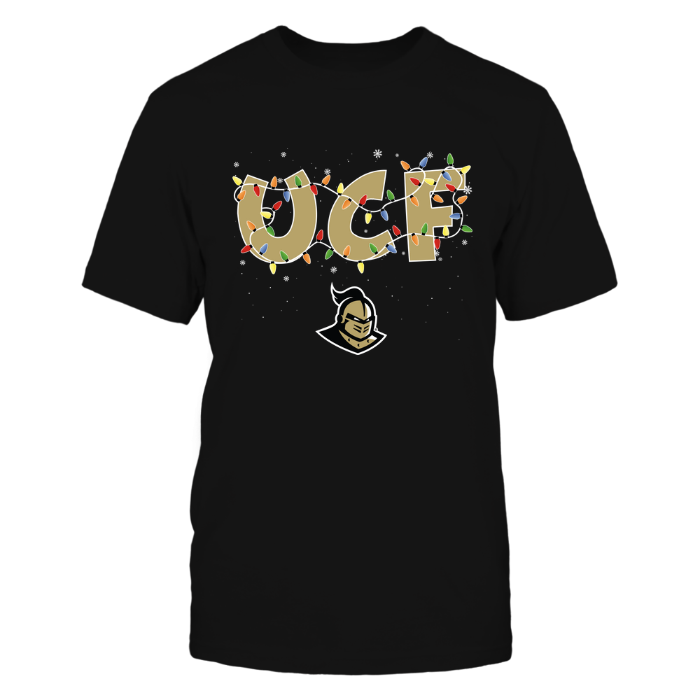 UCF Knights - Xmas - Team Name Light - IF32-IC32-DS38 Front picture