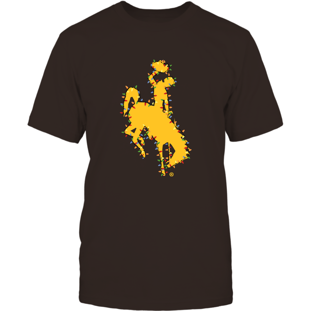 Wyoming Cowboys - Xmas - Logo Color Light - IF32-IC32-DS38 Front picture