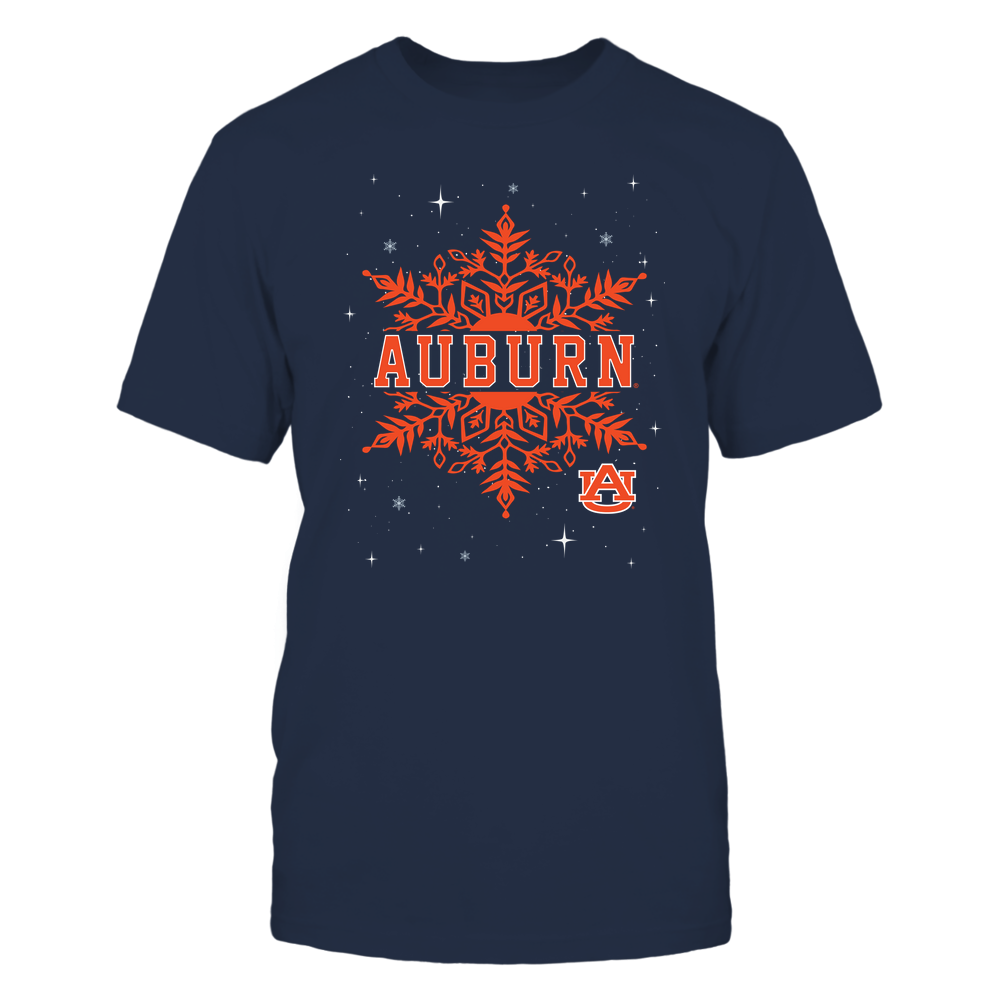 Auburn Tigers - Xmas - Snowflake Cut Through - IF32-IC32-DS85 Front picture