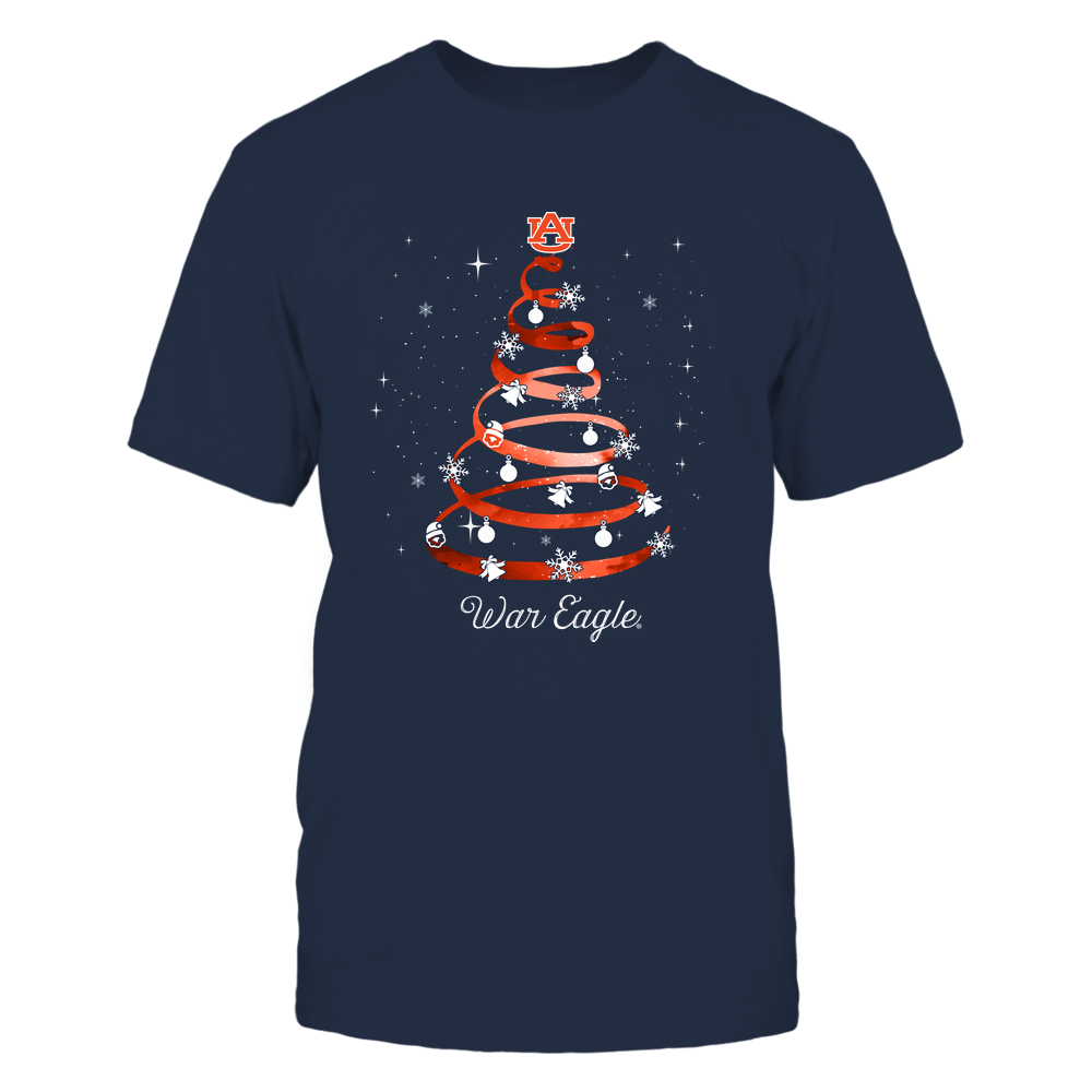 Auburn Tigers - Xmas - Spring Galaxy Tree - IF32-IC32-DS38 Front picture